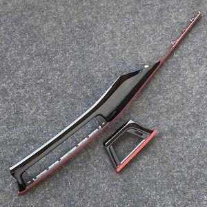 BMW-3er-f30-f31-f34-4-f32-f33-f36-interni-BARRE-pianoforte-vernice-korall-Rosso-I-Da-Tavola