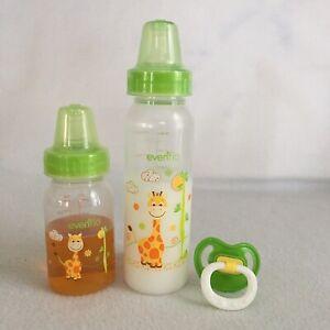 2oz Preemie Formula,Apple Juice Bottles 4UR Reborn Baby Doll Props Pacifier
