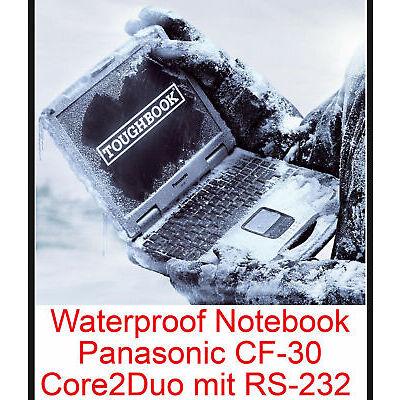 EXTREM RESISTENTES NOTEBOOK PANASONIC CF30 NOTEBOOK&WLAN&TOUCHSCREEN MIT RS-232