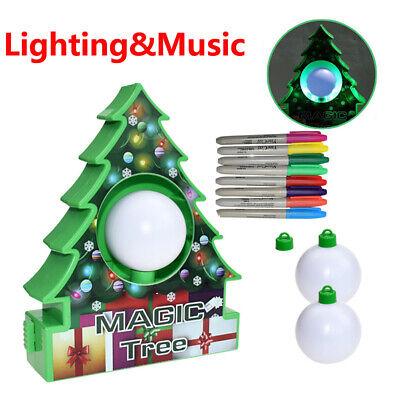 DIY Santa Claus Christmas Tree Decoration Pendant Music Kit Easy Make UK