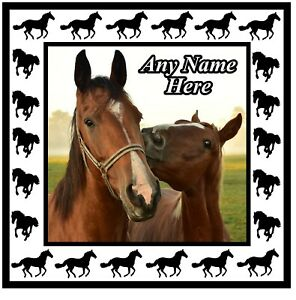 YOUR OWN PERSONALISED HORSE PHOTO SOUVENIR NOVELTY COASTERS / NEW / PETS / GIFTS