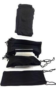 50 pcs whole sale job lots bulk black protection pouches for sunglasses uk selle