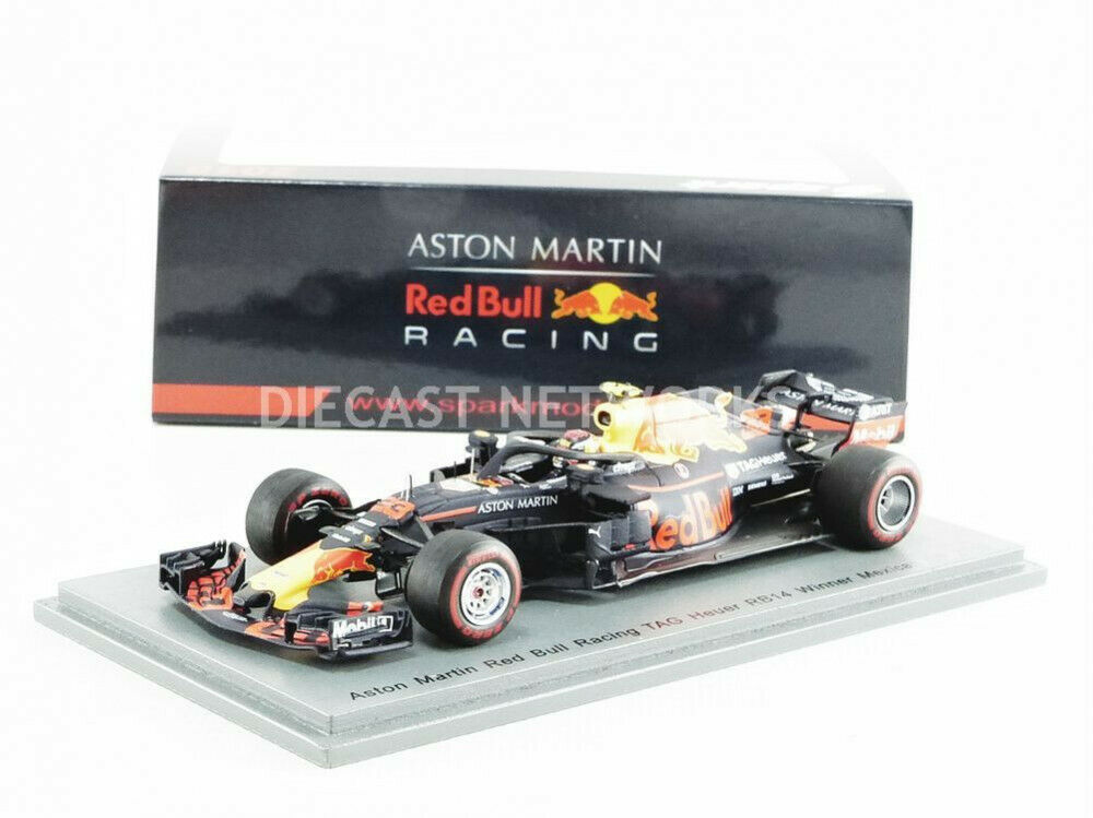 SPARK - 1/43 - RED BULL RACING RB14 - WINNER MEXIQUE GP 2018 - S6066