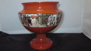 Lancaster-amp-Sons-Hanley-England-c1920-039-s-Pottery-Vase-England