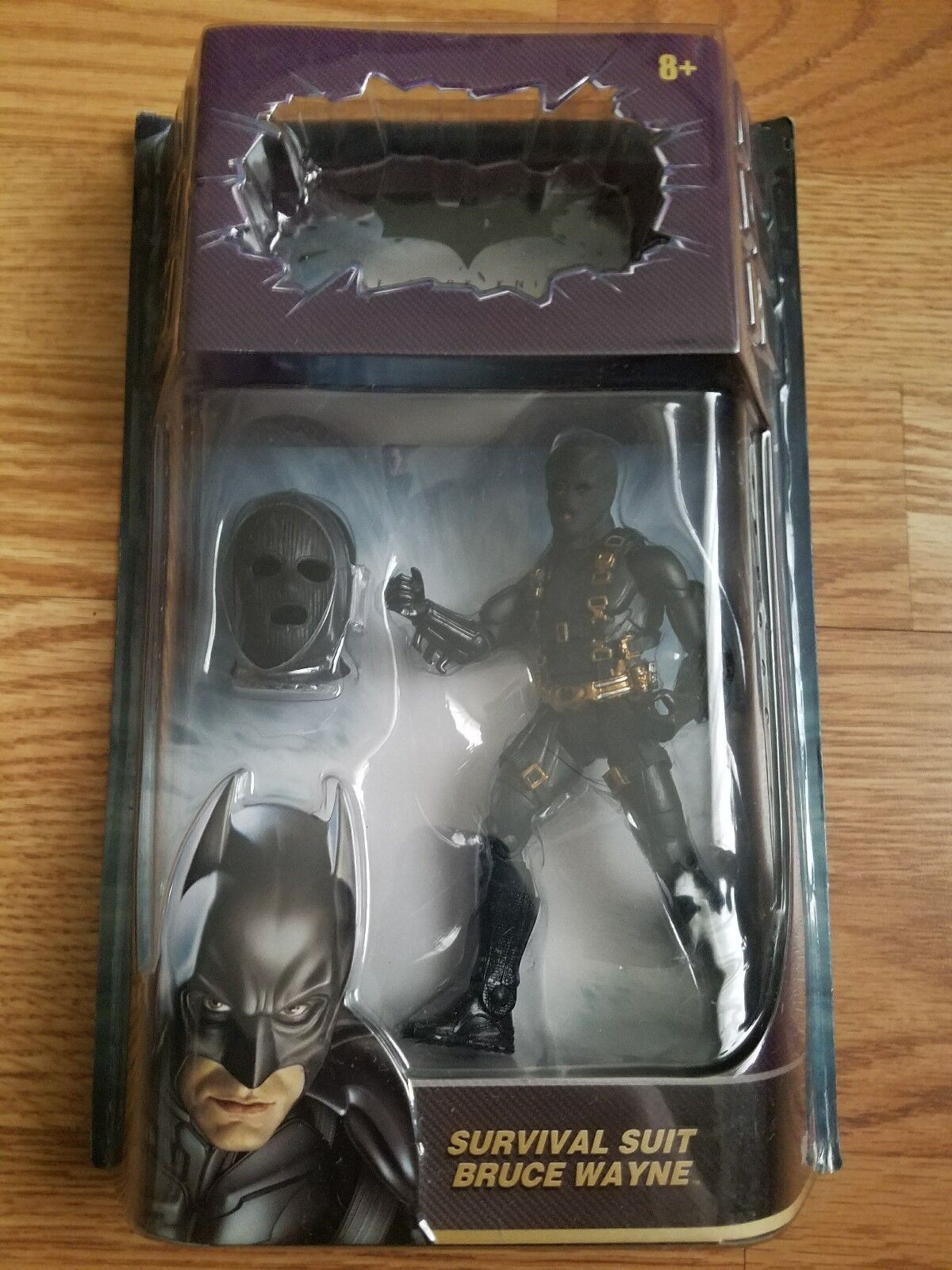 DARK KNIGHT Bruce Wayne Survival Suit 6  action figure MOVIE MASTERS DC UNIVERSE