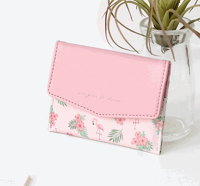Pochette Mini Wallet Credit Business ID Card Money Holder Pocket Slim Purse