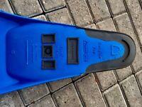 Svømmerfødder Rundine Cressi sub Pro, Størrelse