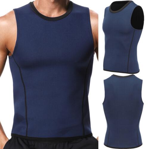 Men Waist Trainer Vest for Weight Loss Sauna Sweat Neoprene Body Shaper Tank Top