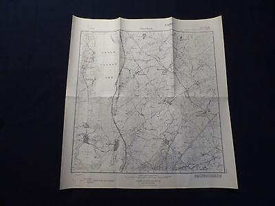 Landkarte Meßtischblatt 2749 Bietikow, Bertikow, Hohengüstow, Seehausen, 1945 Blut NäHren Und Geist Einstellen