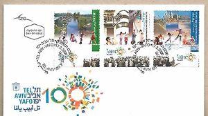Israel-FDC-Tel-Aviv-Centennial-Year-2009