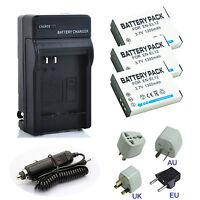 New EN-EL12 Battery / Charger For Nikon Coolpix S710 S610 S610c S620 S630 Camera
