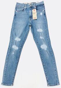 Ripped High Vintage skinny da con caviglia super azzurri Mile donna Jeans Levis® Soft UZq7BHx