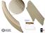 thumbnail 3 - Door Handle BMW X5 & X6 Genuine Beige Leather - Right (E70, E71, E72 06-14)