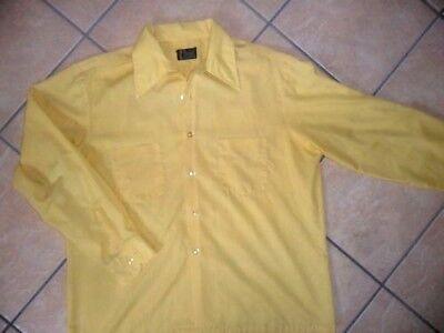 100% QualitäT Vtg Mod 60er Jahre Jc Penney Towncraft Hemd Pennprest Kiste Schnitt Rockabilly 100% Hochwertige Materialien