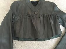 All Saints Leather Jacket /Bolero Size 8 EU 36