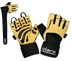 EVO-Fitness-Weightlifting-Gloves-Gym-Wrist-Wrap-Straps-Cycling-Glove-Fitness