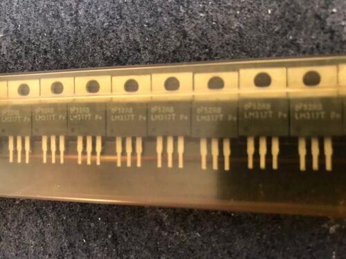 LM317 Variable Régulateur de tension TO-220 10 x LM317T