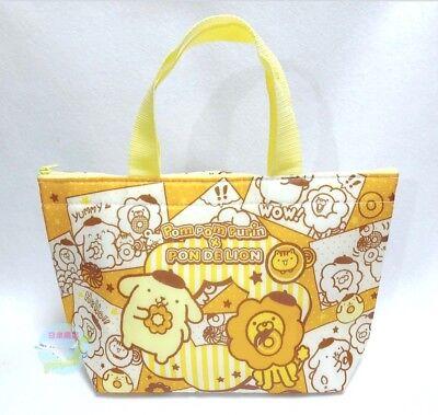 SANRIO PomPomPurin x Pon De Lion Carrier-Bag Polyester Keep Warm /& Cold KAWAII