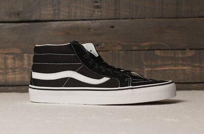 Vans scarpe uomo Sk8 mid reissue (retro sport) blacktrue white skate sneakers | eBay