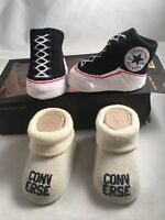 Converse Baby Shoes Boys or Girls Booties Two Pack Shoes