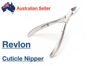Revlon-Stainless-Steel-Nail-Nippers-Clippers-Cutter-Cuticle-Half-Jaw-Manicure
