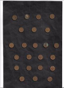 1 Pfennig 1966 - 1996, République Fédérale D, Différentes Collections, A, D, F, G, J-afficher Le Titre D'origine