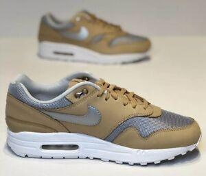 e2da8245db New Womens Nike Air Max 1 SE PRM Sz 10Shoes Vachetta Tan Silver ...