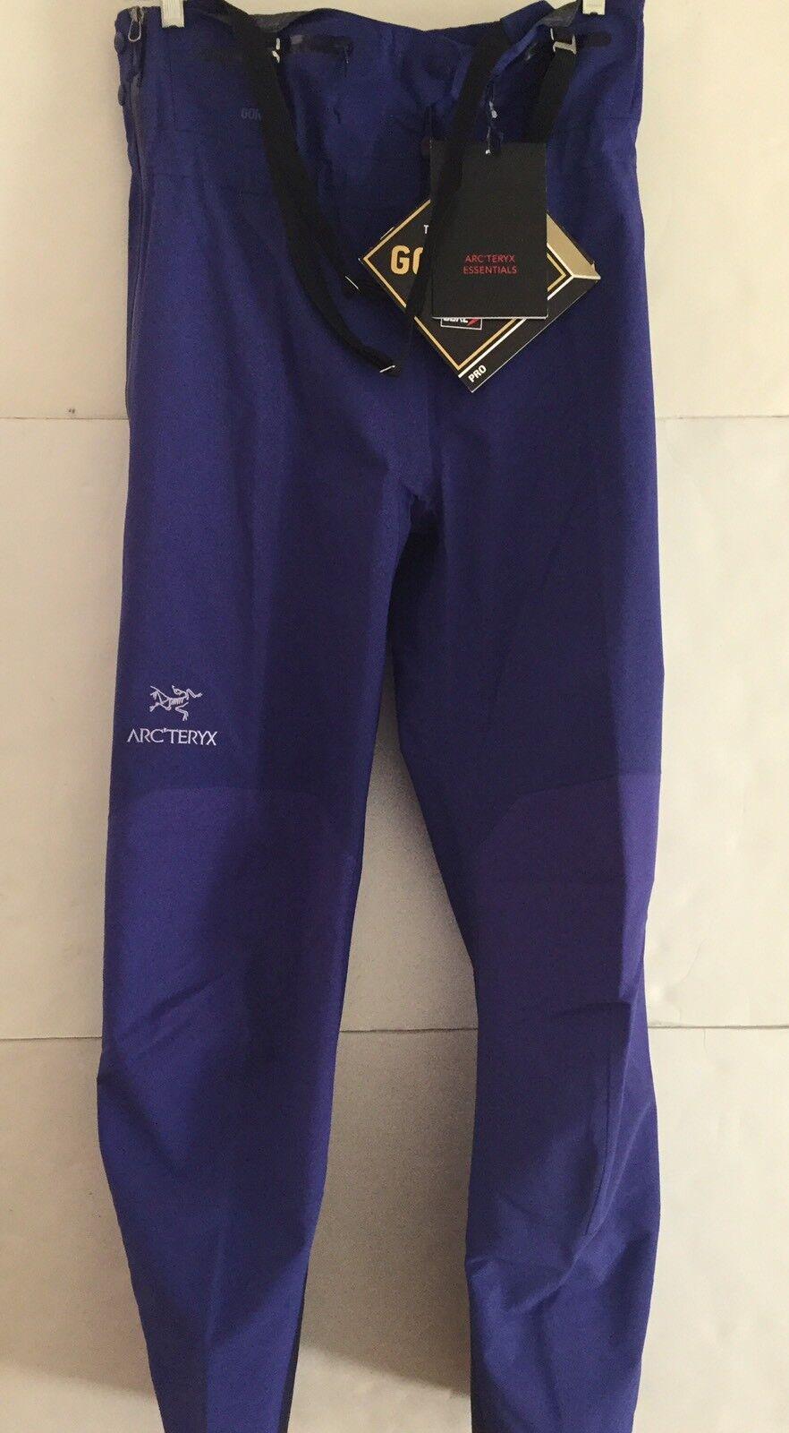Arc'teryx Women's Theta SV Bib Pants Goretex Pro Medium Tanzanite  Model