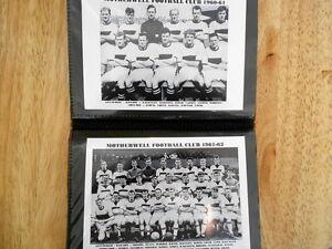 MOTHERWELL-FOOTBALL-CLUB-PHOTO-ALBUM-1950-039-s-1960-039-s