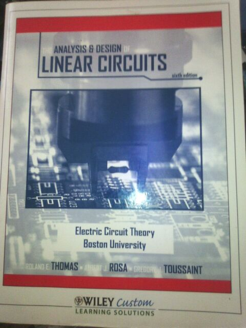 The Analysis & Design of Linear Circuits Paperback – 2010