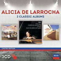 Alicia De Larrocha - Alicia De Larrocha: Three Classic Albums [new Cd] Ed on sale