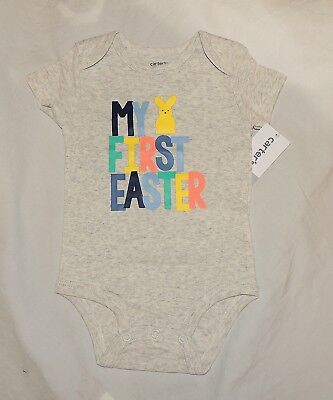 NEW Carters Baby First Valentines One Piece Long Sleeve Cotton Size NB thru 12M