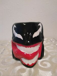 MARVEL-Comics-Venom-3D-Ceramic-Molded-Mug-Coffee-Cup-16oz