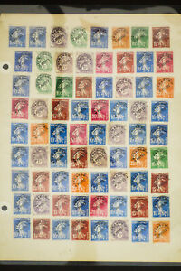 France Pre-Cancel Stamp Collection