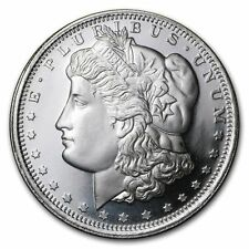 1 oz Sunshine Mint Morgan Silver Round 1Troy Ounce .999 Silver Bullion,Round