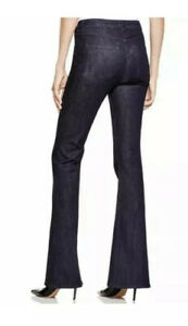 3X1 NYC Mid Rise Bell Bottom Jean Jeans in Alpha, Size 29 dark rinse