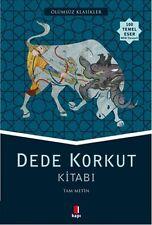 Dede Korkut Kitabi Tam Metin Turkce Kitap TURKISH BOOK