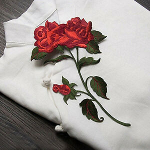 Chic-Red-Rose-Flower-Patch-Embroidered-Iron-On-Applique-patches-for-Clothes-DIY