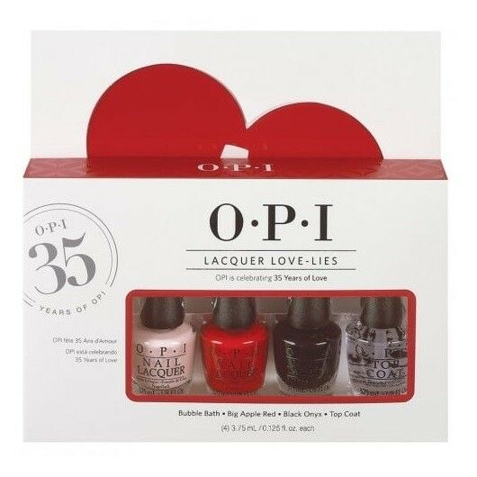 Opi Lacquer Love Lies Mini Nail Lacquers