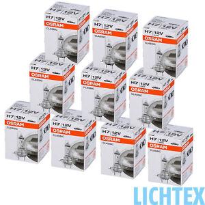 10x-H7-OSRAM-CLASSIC-64210CLC-12V-55W-Standard-Scheinwerfer-Lampe-10er-Pack-NEW