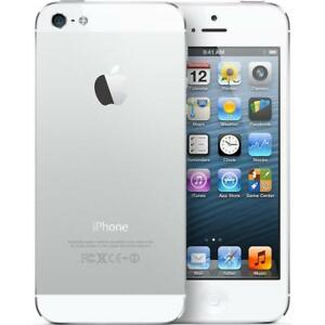 Apple-iPhone-5-16GB-White-amp-Silver-GSM-Unlocked-AT-amp-T-T-Mobile-Metro-PCS