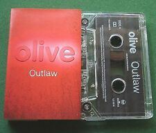 Olive Outlaw (3 Versions) Cassette Tape Single - TESTED