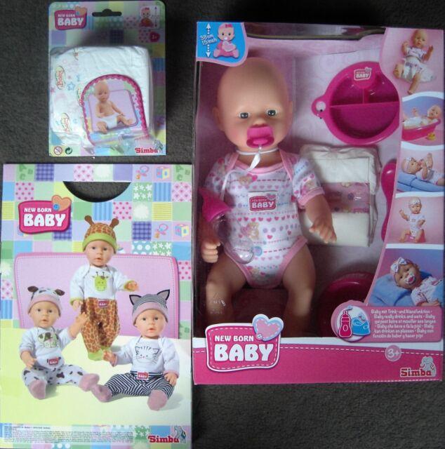 NEW Born Baby Wunschkleidung Pampers NEU