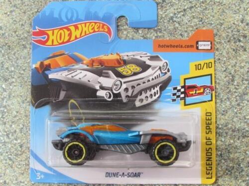 Hot Wheels 2018 #149/365 Dune-A-Soar Blaugraue Hw Legends Of Speed Neu Casting Spielzeugautos