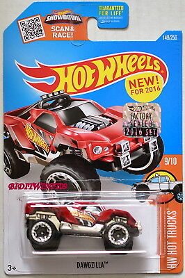 Preiswert Kaufen Hot Wheels 2016 Hw Hot Lkws Dawgzilla Rot Werkseitig Versiegelt Auto- & Verkehrsmodelle Modellbau