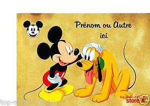 Plaque-de-porte-en-sur-bois-personnalisee-Mickey-N-55-avec-prenom-ou-texte