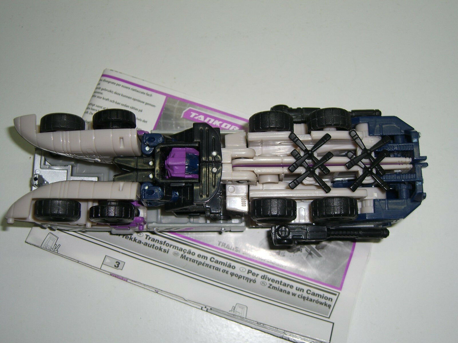 Transformers TANKOR OCTANE CLASSICS DELUXE GENERATIONS RTS FIGURE FIGURE FIGURE 100% COMPLETE 76bd52