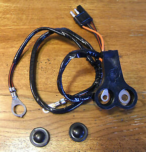 c15 1967 1968 cougar 289 302 xr7 alternator wiring harness with amp meter ebay. Black Bedroom Furniture Sets. Home Design Ideas