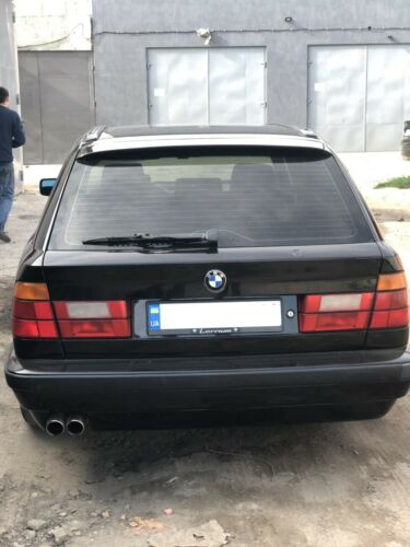 BMW E34 Spoiler lip 520 525 540 M5 Type Rear Roof Spoiler Wing bmw 34 Touring