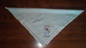 Rodeo Silk Scarf Handkerchief Great Falls Montana Let Er